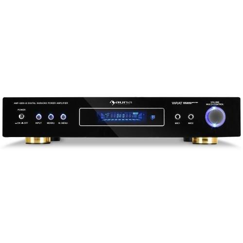 AV1-AMP-9200-B 5.1 Kanal Surround Verstärker mit Radioempfang (600 Watt) schwarz