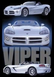 Dodge (Viper) Sports Car Poster - 24x36