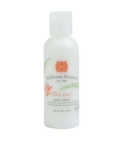 Hillhouse Naturals 4-Oz. Olive Leaf Body Cream