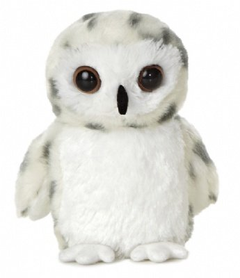 """Snowy Owl 8"""" by Aurora from Aurora World"""