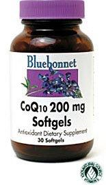 Coq10 200Mg Bluebonnet 30 Softgel