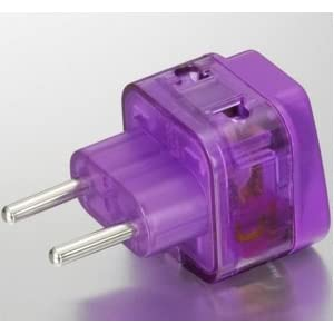 Electrical Plug Adapter USA to Continental Europe