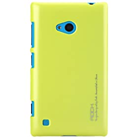 Rock New Naked Shell Back Case for Nokia Lumia 720 (Yellow)