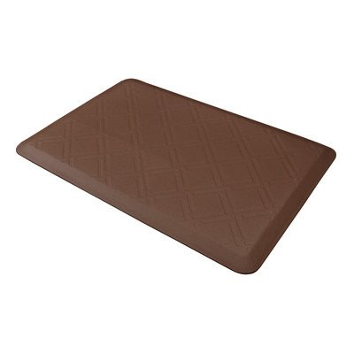 Discount Online Shopping for WellnessMats Antifatigue Kitchen Mats - Moire: Brown
