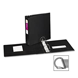 3 Pack Durable EZ-Turn Ring Reference Binder, 11 x 8-1/2, 3\