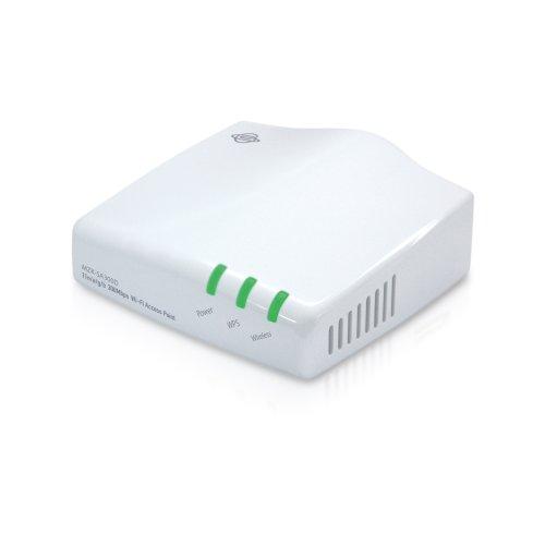 PLANEX ネットワークポートを持った機器につなげるだけで無線化 300Mbps デュアルバンド対応WiFi無線LANシンプルアクセスポイント(親機)MZK-SA300D