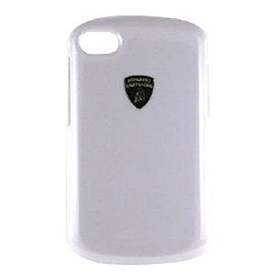 Lamborghini Cell Phone Case for Blackberry Q10, White from MOBO