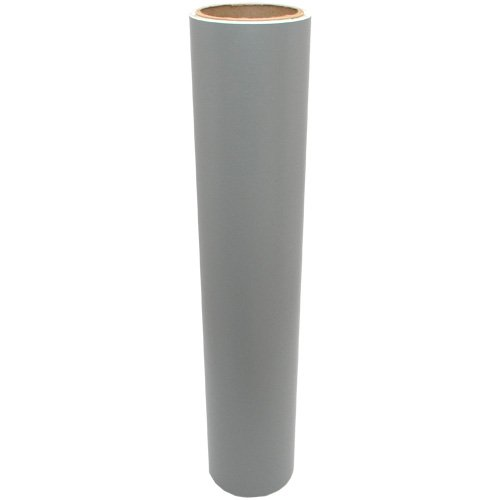 Vinyl Oasis Craft & Hobby Vinyl - Matte Gray W/ Removable Adhesive - 12 In. X 20 Ft. Roll