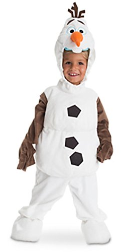 Disney Store Frozen Olaf Snowman Plush Costume for Kids (2 (XXS))