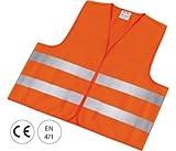 Warnweste EN 471 Polyester XL orange HW2