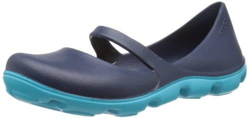 Crocs Ladies Duet Sport Mary Jane Navy/Surf, Dual Density Comfort UK 9 / EU 42-43 / US M9-W11