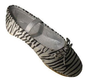 Ragg Toddler/Little Kid Cameron Mary Jane,Silver Zebra,7 M Us Toddler front-906281