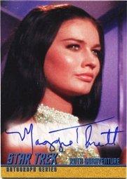 Star Trek TOS Remastered A202 Maggie Thrett Autograph Card
