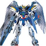 Bandai Hobby EW-01 Wing Gundam Zero Custom Endless Waltz 1/144 High Grade Fighting Action Kit