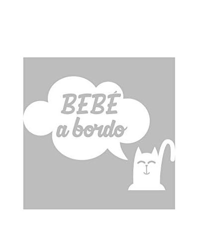 """Ambiance Live Vinile Decorativo """"Bebé a bordo"""""""