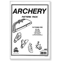 Tandy Leather Archery Pattern Pack 6027