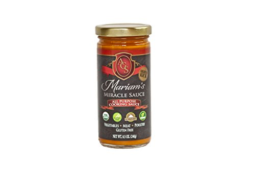 Mariam's Miracle Sauce (Medium Spicy Kick!), Truly An All Purpose Cooking Sauce & More in 8.5 OZ Glass Jar (Tomato Based) (Fusion Grain Cooking compare prices)