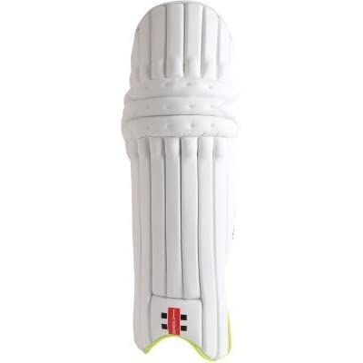 Gray Nicolls Omega Xrd Gn10 Left Hand Men Batting Pads(White, Blue, Cricket)