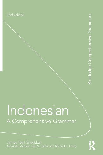 Indonesian: A Comprehensive Grammar (Comprehensive Grammars)