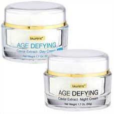 Lawrens Age Defying caviar extract day and night twin pack