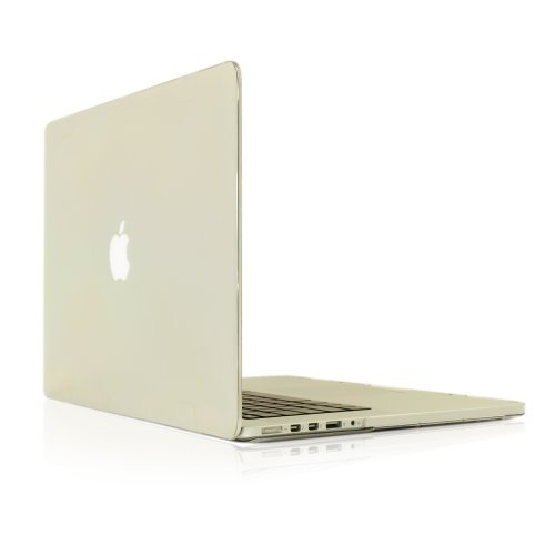 #>>  Top Case Clear Rubberized Hard Case Cover for Apple MacBook Pro 13.3