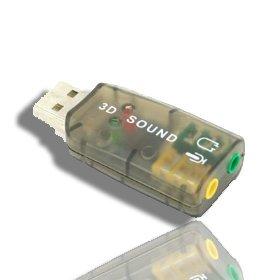 External 5.1 Usb 3D Audio Sound Card Adapter For Pc Desktop Notebook Laptop