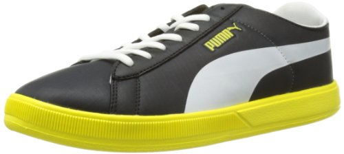 Puma Unisex - Adult Archive Lite Lo Ripstop Low Top Black Schwarz (black-white-blazing yellow 05) Size: 41