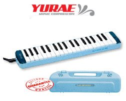 Yurae 37 Key Melodica Blue AM-37K3B