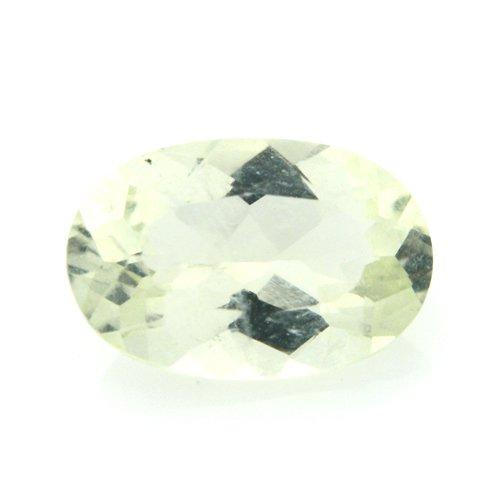 Natural Yellow Beryl Loose Gemstone Oval Cut 1.05cts 8*5mm VS Grade Gem