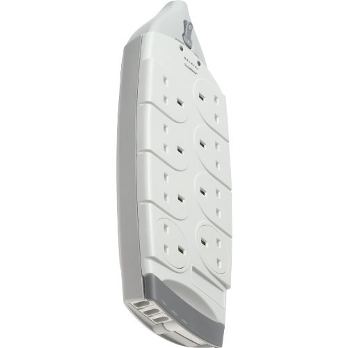 Belkin Surge Master® 8-Way Tel/Fax/Modem Protection with 4m Cable