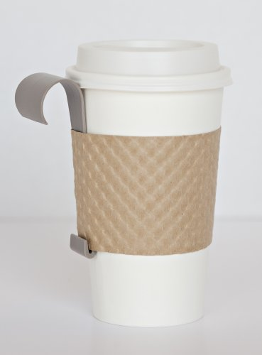 JavaHook® (3 Pack) - Portable Cup Holder by JavaHook® (Driftwood)