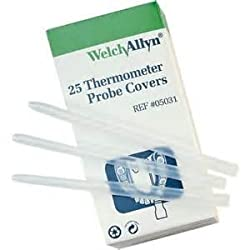Welch Allyn 05031-SureTemp Plus Model 690 Electronic Thermometer Disposable Probe Covers (Pack of 250)