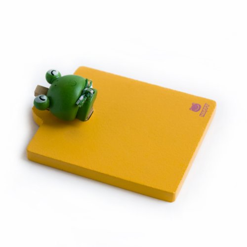 [Happy Frog] - Refrigerator Magnet Clip / Magnetic Clipboard front-494017