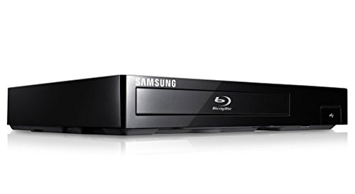 Samsung Smart Blu-ray DVD Disc Player With 1080p Full HD Upconversion, Plays Blu-ray Discs, DVDs & CDs, Plus 6Ft High Speed HDMI Cable, Black Finish