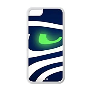 iPhone 5C Case - NFL Seattle Seahawks Apple iPhone 5C (Cheap IPhone5) Waterproof Rubber (TPU) Back Cases Covers