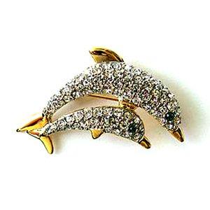 24K Gold Swarovski Crystal