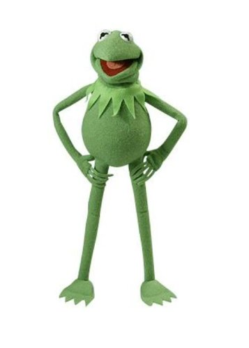 Walt Disney Showcase Collection - Photo Puppet : Muppets - Kermit The Frog