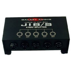 Galaxy Jib S 4-Way Splitter
