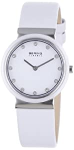 BERING Time Damen-Armbanduhr Slim Ceramic 10729-854