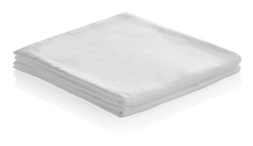 100% Bamboo Pillow Cases King (White) front-25097
