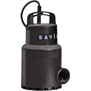 Savio Water Master Clear Pump - 3960 GPH, 115 Volt, 1 1/4in., Model# WMC3960