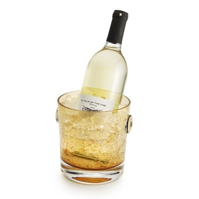 Personalized Amber Champagne Bucket back-511966