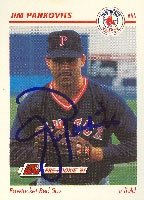 Jim Pankovits Pawtucket Red Sox - Red Sox Affiliate 1991 Line Drive Pre Rookie... by Hall of Fame Memorabilia