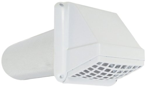 Imperial Manufacturing VT0396 4-Inch VT Preferred Vent Hood, White