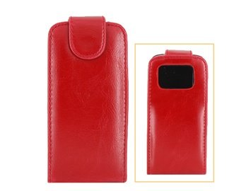 Leather Cover / Hulle fur Nokia N97 (Red)