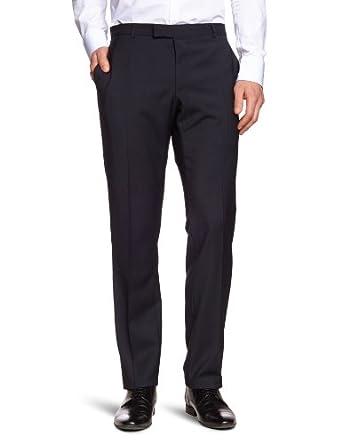 Strellson Premium Herren Anzughose, gestreift 11001988 L-James, Gr. 46, Blau (120)