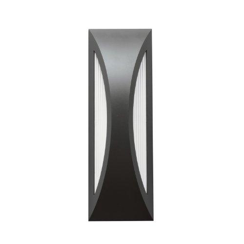Kichler Lighting 49436Sbk Cesya 18In 26W 3000K Led Exterior Wall Mount, Satin Black Finish