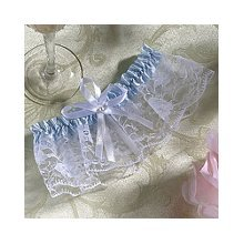 Wilton 120-412 Women's Size Wedding Garter, Blue