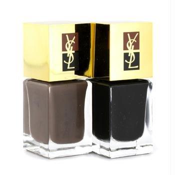 Manucure Couture Colour Nail Polish Duo (Texture Effect) - # No. 3 Duo Griffe/De Sable 2 x 6ml/0.2oz