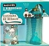 Suavinex - Pack 2 Biberones 270 ml y 360 ml (varios colores)